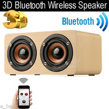 Wireless Bluetooth 3D Speaker Mini SUPER BASS Portable For Smartphone Tablet PC