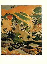 "1973 Vintage MATISSE ""LANDSCAPE WITH BROOK (WITH ALOES)"" COLOR offset Lithograph"