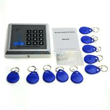 500 User X1 RFID Proximity Entry Door Lock Access Control System + 10 Keys 125KH