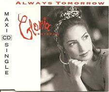 GLORIA ESTEFAN ALWAYS TOMORROW + THE MIAMI HITMIX & LIVE TRACK 1992 CD SINGLE