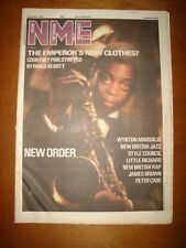 NME 1986 OCT 18 NEW ORDER STYLE COUNCIL LITTLE RICHARD