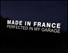 Made in France Car Decal Sticker JDM Vehicle Bike Bumper Graphic Funny