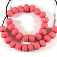 Lot de 200 perles rondes en Bois 6mm Rose Corail