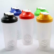 Hot Durable 600ML Smart Shake Protein Shaker Mixer Cup Bottle Drink Whisk New WT