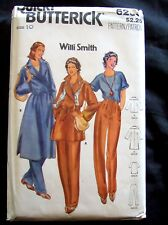 New  Butterick 6259  ladies sewing  pattern size 10 Willi Smith Coat,pants,top
