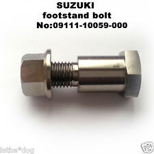 GSX-R750K4 (2004-12) TITANIUM bike stand bolt.  No:09111-10059