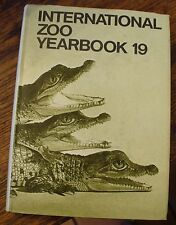 International Zoo Yearbook 19 1979 Zoological Society of London Rare Wildlife