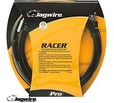 Jagwire Racer da corsa Road Bike Bicycle Gear Kit cavo dei freni cavi BIANCO