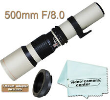500mm TELEPHOTO F8.0 LENS FOR NIKON D3300 D5300 D5200 D610 D7100 D7000 D7100