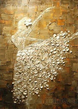 """20""""x28"""" Pure Hand-painted Abstract Oil Painting Ballerina Dance /NO Frame OP0396"""