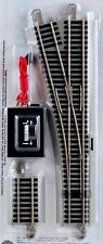 Bachmann HO Scale Train E-Z Track Nickel Silver/Gray #4 Turnout Left 44557