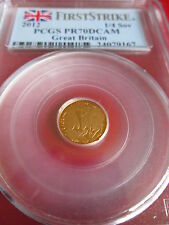 Gold Proof Quarter Sovereign 2012 Diamond Jubilee.¼ Sovereign PR70DCAM