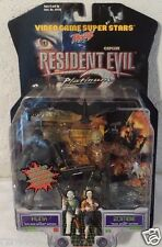 Resident Evil 2 Action Figure Toy Biz Hunk Zombie Capcom Video Games 1998