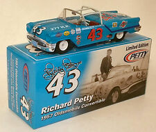 RICHARD PETTY #43 1957 OLDS CONVERTIBLE and SPECIAL GARFIELD PAINT SCHEME COMBO