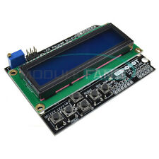 For Arduino Expansion Board 1602 LCD Board Keypad Shield Blue Backlight