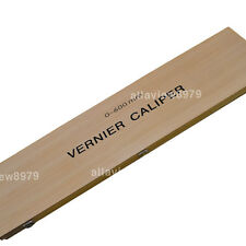Heavy Duty Vernier Caliper 0-600mm Stainless Steel with Wooden Box