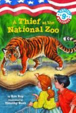 Capital Mysteries #9: A Thief at the National Zoo (A Stepping Stone Book(TM)) R