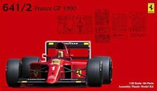 Fujimi 09037 GP-5 1/20 Scale Model Formula One Kit Ferrari 641/2 F1-90 France GP
