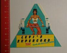 Aufkleber/Sticker: Levi's Supercord Cords die ihre Form halten (300716146)