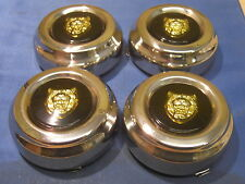 JAGUAR HUB CAPS SET FOR KENT ALLOYS JAGUAR XJ6 XJ12 & XJS CAC9820COM, CHROME,