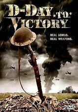 BRAND NEW 2DVD SET // HISTORY CHANNEL  // D-Day to Victory // OVER 4 HOURS
