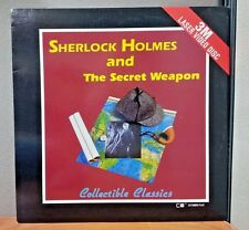 Sherlock Holmes and the Secret Weapon   Laser Disc  DFI 13   Very Good
