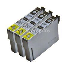 3 kompatible Tintenpatronen schwarz für den Drucker Epson SX440W SX235W