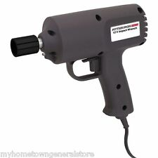 "PITTSBURGH ELECTRIC 12 VOLT 1/2"" IMPACT WRENCH 11' POWER CORD  w/ CASE"