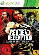 XBOX 360 Red Dead Redemption Game of The Year Edition * ottime condizioni