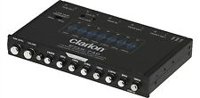Clarion EQS746 1/2 DIN Graphic Equalizer with Built-in Crossover NEW
