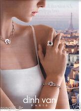 Publicité 2014 - DINH VAN Paris