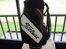 Titleist Cart Golf Bag  Red, Black and White USED  #MM 744
