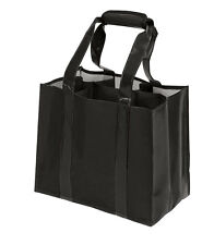 Eco-savvy 6 Separate Compartments Bottle Wine Tote G1557
