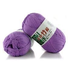 Fashion Soft Bamboo Crochet Cotton 50g Knitting Yarn Baby Knit Wool Yarn KY