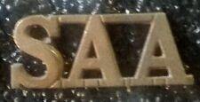 SAA SA Artillery WWII Shoulder Title ® - UDF