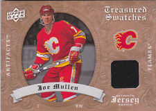 08-09 Artifacts Joe Mullen Jersey RETAIL Treasured Swatches Flames 2008