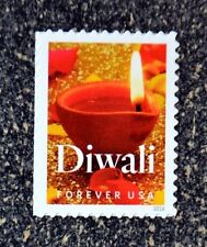 2016USA #5142 Forever - Diwali - Single Mint NH holiday christmas candle