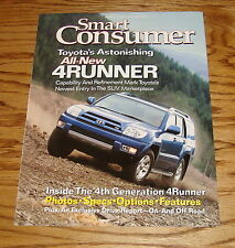 Original 2003 Toyota 4Runner Smart Consumer Sales Brochure 03