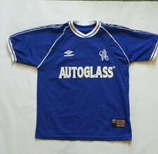Vintage Chelsea London Umbro Jersey Autoglass