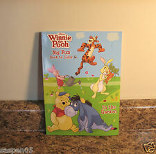 Disney Winnie The Pooh and Friends Coloring Book In The Garden NEW