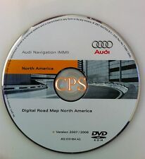 2007 2008 2009 Audi Q7 3.6 4.2 S Quattro Navigation DVD # 884 AQ Map Update 2008