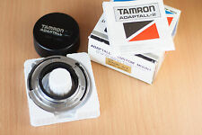 Tamron Adaptall-2 Adapt-all 2 AD-2 Adapter Nikon AI w/Rear Cap, Box