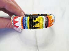 Zulu African Bead Work Bracelet/Bangle - Handmade - South Africa