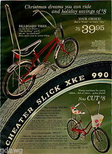 1970 ADVERTISEMENT Bike Bicycle Springer Wheelie Bar Big Dipper Seat Pacer Filly