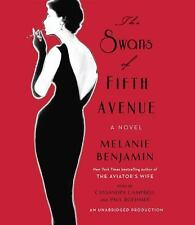 The Swans of Fifth Avenue by Melanie Benjamin (2016, CD, Unabridged)