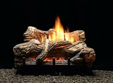"WHITE MOUTAIN HEARTH 24"" FLINT HILL LOG SET MILLIVOLT NATURAL GAS W/ REMOTE"