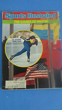 SPORTS ILLUSTRATED-FEB.2,1976-THE GAMES OF WINTER-SHEILA YOUNG-USA