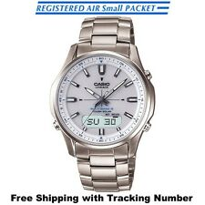 CASIO LINEAGE LCW-M100TD-7AJF Titanium Solar Radio Multiband 6 Men's Watch Japan