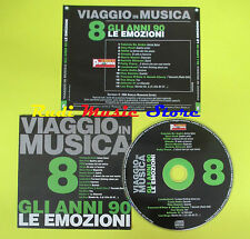 CD VIAGGIO IN MUSICA 8 compilation PROMO 04 POOH PAOLI GIORGIA (C4*)no mc lp dvd