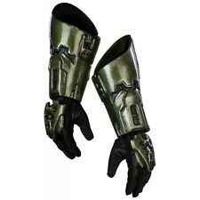 Master Chief Costume Gloves Halo 3 Adult Super Deluxe Halloween Fancy Dress